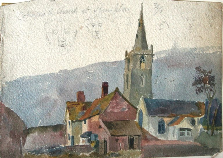 Knighton by John Flower